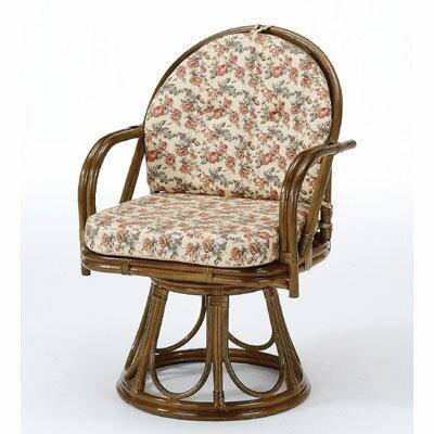 ラタン 籐 回転座椅子 ハイタイプ S254B【送料無料】【大川家具】【smtb-MS】【RCP】【TPO】【KOU】【snp】