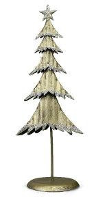 メタルクリスマスツリースタンド(S)ゴールド【クリスマス/アンティーク】
