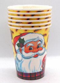 クリスマスパーティー紙コップ6個セット サンタファミリー【クリスマス雑貨/クリスマス紙コップ】