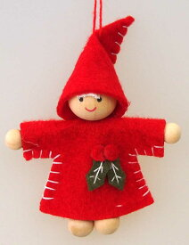 ミニミニチャームクリスマスオーナメント 雪ん子あずき【クリスマスオーナメント/クリスマスツリー】