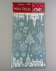 クリスマスオーナメントハウスウォールステッカーLサイズ【クリスマス装飾/クリスマス雑貨】