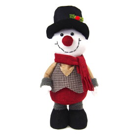 【在庫処分お買い得】クリスマス特大スノーマン人形【クリスマスインテリア/クリスマス雑貨】