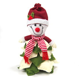 【在庫処分お買い得】クリスマススノーマン人形【クリスマスインテリア/クリスマス雑貨】