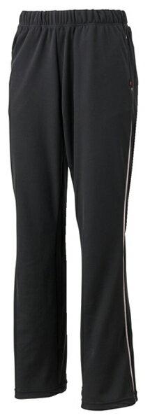 SSK ジェーンスタイル ミセスパンツ(定番) フィットネスパンツ JS101P-9081 (ブラック×ラベンダー)