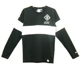 ゴレアドール goleador Vネックロングプラクティスシャツ17FW サッカーシャツ(メンズ) F-036-BLK (ブラック)