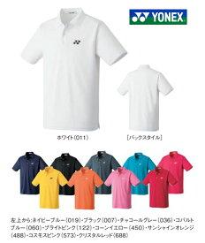 テニスウェア ポロシャツ 半そで 半袖 メンズ レディース 人気 大人サイズ 定番 ワンポイントジュニア 子供 女の子 男の子 ヨネックス スポーツ おしゃれ かわいい 襟付き 10300