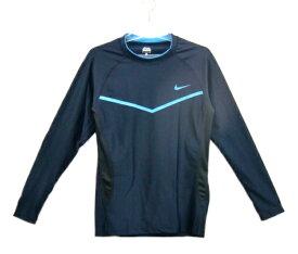 ナイキ Nike ロングスリーブラッシュガード ラッシュガード 2982724-19(ダークオブシディアン)