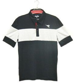 ディアドラ Diadora ゲームシャツ(メンズ)18SS メンズ ゲームウエア DTG8338-99 (ブラック)