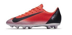 ナイキ Nike ナイキ ジュニア マーキュリアルヴェイパー 12アカデミー CR7 HG 18HO サッカースパイク AO4492-600 (ブライトクリムゾン/ブラック/クロム/)