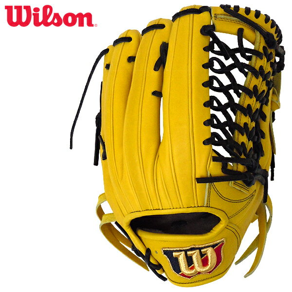 Wilson ウイルソン WTAHWDD8F-32 野球 硬式 グローブ ウィルソン スタッフ デュアルテクノロジー 内野手用 ライム