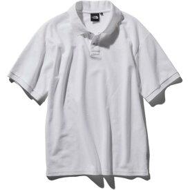 ザ・ノースフェイス THE NORTH FACE ショートスリーブカジュアルポロ(メンズ) メンズ ポロシャツ NT21951-W (ホワイト)