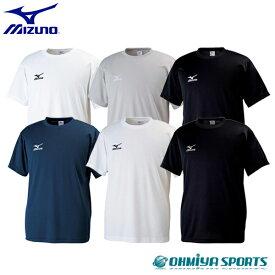 ミズノ クロスティックTシャツ 吸汗速乾 半袖 スポーツウェア 陸上 ランニング ジョギング ジム トレーニング フィットネス スポーツ シャツ ウェア 32JA6150(6色)