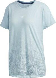 アディダス adidas W M4T グラデーション ルーズTシャツ(レディース) NEW レディースTシャツ FTF47-DV2207(アッシュグレー)