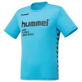 ヒュンメル hummel プラクティスTシャツ NEW Tシャツ HAP4129-67 (Lブルー)