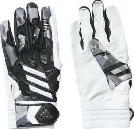 アディダス adidas 5T バッティンググラブSSS NEW バッティンググラブ FTK89-ED1870(ブラック/ホワイト)