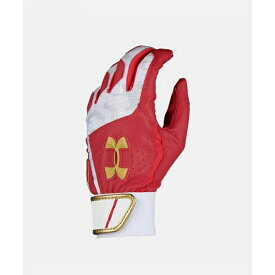 アンダーアーマー UNDER ARMOUR 1313491-redgld ジュニア 少年野球 バッティンググローブ バッテ 打者用手袋クリーンアップVIIバッティンググローブ