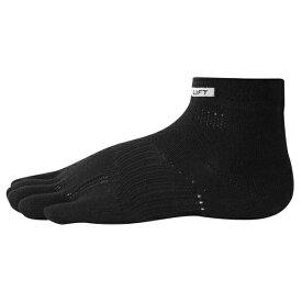 ベンゼネラル BEN-GENERAL ra3001-blk 5本指 ランニングソックス 武田レッグウェアの靴下
