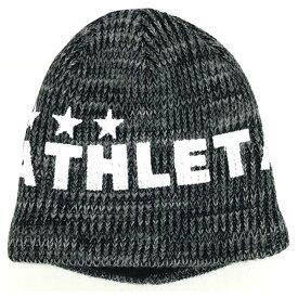 アスレタ ATHLETA 05222j-blk ジュニア ウォームニットキャップ サッカー フットサル ニット帽 帽子