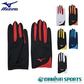 ミズノ MIZUNO レーシンググローブ ユニセックス ランニングアクセサリー 手袋 U2MY9502(6色)