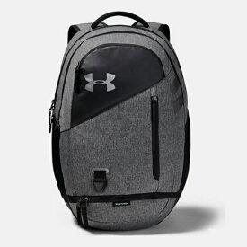アンダーアーマー UNDER ARMOUR UAハッスル 4.0 29.4L(ユニセックス) NEW スポーツバッグ 1342651-BLKGME(Black/Graphite Medium Heather/Black)