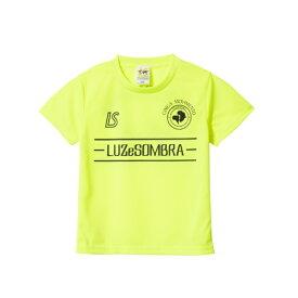 ルースイソンブラ LUZ e SOMBRA Jr LUZ LINE PITCH PRA-SHIRT(ジュニア) NEW ジュニアサッカーシャツ F1821022-NYELBK(Nイエロー×ブラック)