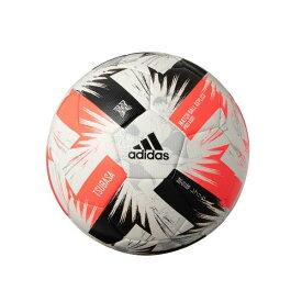 アディダス adidas ツバサ プロ キッズ 4号球 サッカーボール TSUBASA × キャプテン翼 スペシャルエディション AF418(ホワイト×シグナルピンク×ライトフラッシュオレンジ×ブラック )