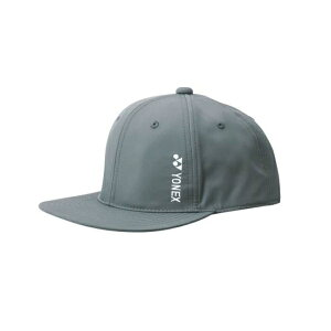 ヨネックス YONEX ユニキャップ テニスキャップ 41042Y-075(チャコール)