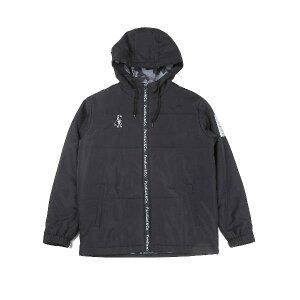 パンディアーニ 最中+2パデットジャケット サッカーウォームウエア CP20538-02(ブラック)