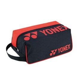 ヨネックス YONEX シューズケース テニスバッグ BAG2133-187(ブラック/レッド)