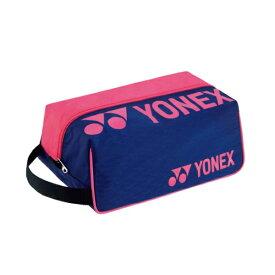 ヨネックス YONEX シューズケース テニスバッグ BAG2133-675(ネイビー/ピンク)