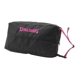 スポルディング SPALDING シューズバッグ ピンク テープ バスケットボールアクセサリー 002PKT(ピンクテープ)