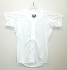 ミズノ メッシュユニフォームシャツ オープン型 ジュニア 野球 ユニフォーム 52MJ788-11