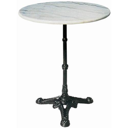 大理石テーブル ホワイトマーブル 円形 φ600 60cm 天板と脚部セット 大理石 マーブル marble 天板 綺麗 おしゃれ アンティーク 高級感 北欧 円型 丸 円