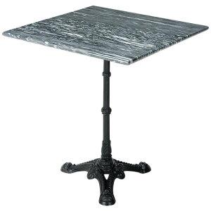 大理石テーブル グレーウェイブ 正方形 600角 60cm 天板と脚部セット|大理石 マーブル marble 天板 綺麗 おしゃれ アンティーク 高級感 北欧 四角 スクエア