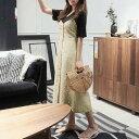 【送料無料】サロペット ワンピース レディース オールインワン ジャンパースカート バックリボン Sサイズ Mサイズ Lサイズ XLサイズ