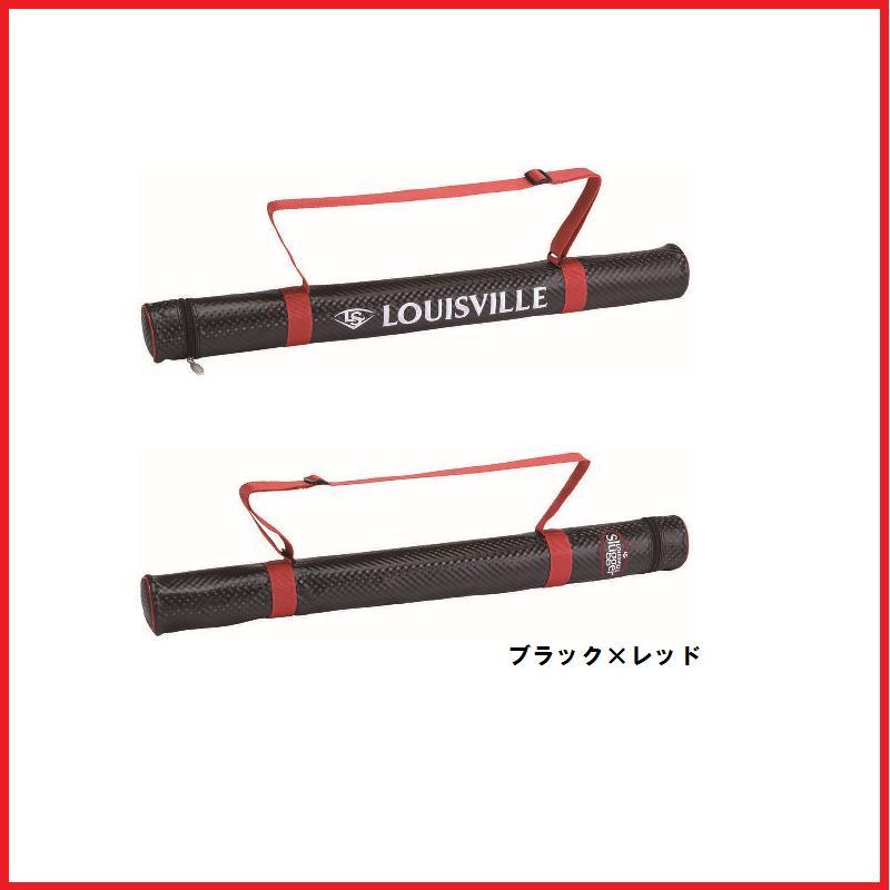 【野球 ルイスビル バットケース】ルイスビルスラッガー バットケース(1本入れ)(WTLBA61RD) ■ブラック×レッド ■ソフトボールバット2本入れ可