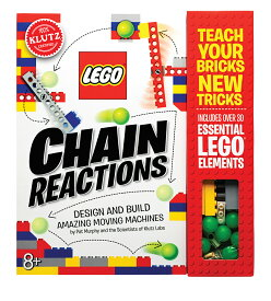 【送料無料】Lego Chain Reactions レゴ チェーンリアクションズ(完全日本語マニュアル付き) 【レゴ ギミック カラコロピタン 自作 ピタゴラスイッチ 本 連鎖 装置 LEGO 作り方】