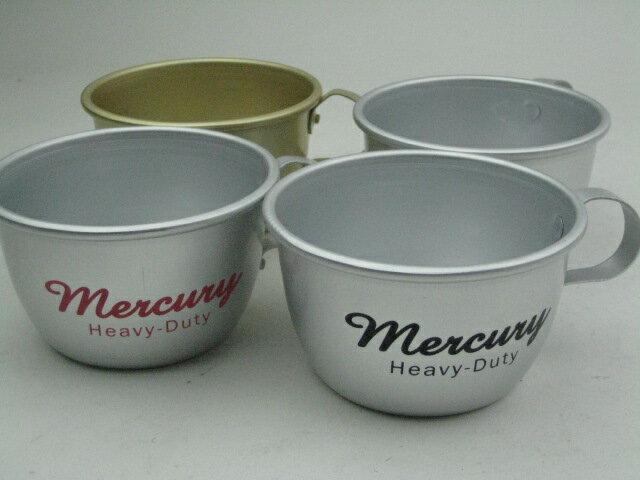 【NEW】Mercuryマーキュリー アルミマグカップ300ML 9.8x12xH6センチ【RCP】