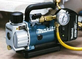 附带牧田充电式铝真空泵VP180DRT电池BL1850X1书、充电器DC18RC、盒子