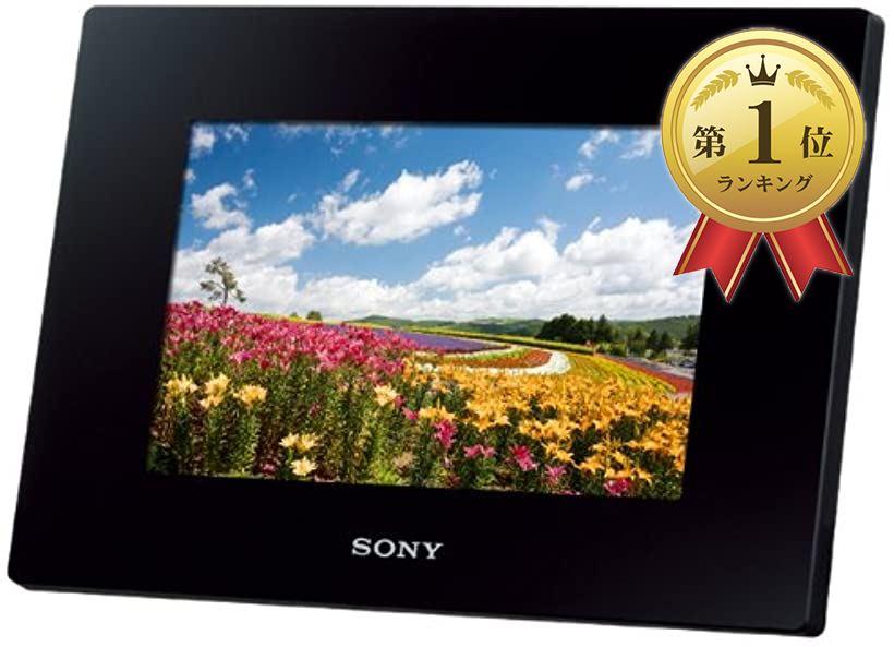 デジタルフォトフレーム S-Frame D720 7.0型 内蔵メモリー2GB DPF-D720/B[ブラック][DPF-D720(B)][ソニー(SONY)]