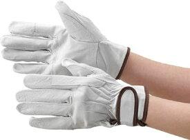 マジック式手袋 豚本革製当て付Lサイズ[TYK718L](シルバー, Lサイズ)