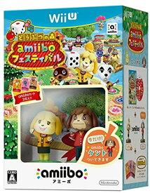 どうぶつの森 amiiboフェスティバル しずえ&amiiboカード 3枚同梱 - Wii U[WUP-R-AALJ](Nintendo Wii U)