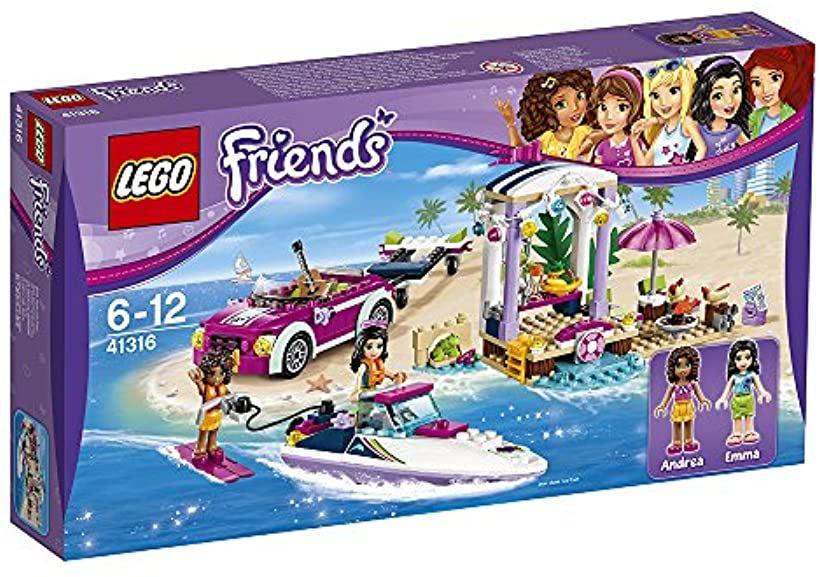 LEGOフレンズ ハートレイクのビーチバカンス[41316][レゴ (LEGO)]