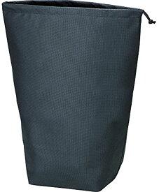 不織布巾着袋10枚入 黒 500X420X220MM TNFD10L