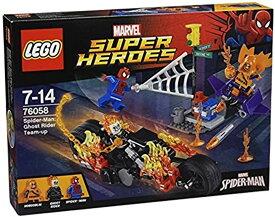 スーパー・ヒーローズ スパイダーマン:ゴーストライダーとの団結[76058]