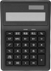 電卓 12桁 防水タイプM[ECD-WR02BL](ブルー, Mサイズ)