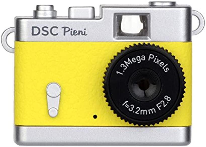 Kenko デジタルカメラ DSC Pieni 131万画素 動画・静止画撮影可能 DSC-PIENI-LY [レモンイエロー] [437469] [ケンコー]