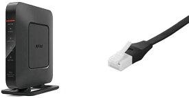 BUFFALO 11n/g/b 無線LAN親機 Wi-Fiルーター エアステーション Qrsetup Giga Dr.Wi-Fi 300Mbps WSR-300HP/N フラストレーションフリーパッケージ FFP 推奨環境1人・ワンルーム +