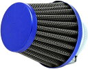 パワーフィルター 35mm カスタム エアークリーナー エアーフィルター エイプ ディオ ジョグ(ブルー)