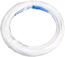 延長 光ファイバー ケーブル sc - 両端 コネクター付き(白15m)